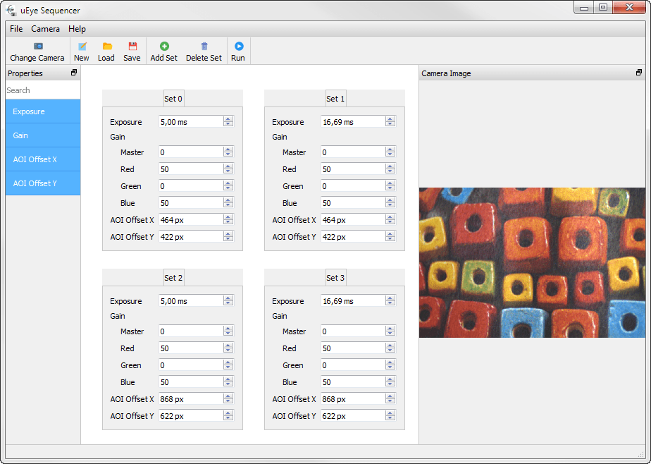 using the sequencer mode for parameter change in real time