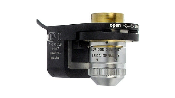 P-725 Piezo Z-Scanner for Microscope Objectives