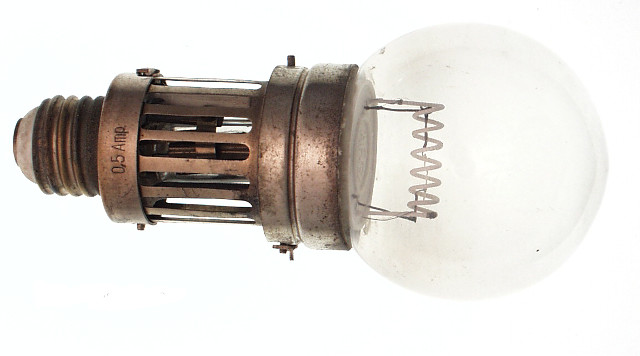 An original Nernst lamp