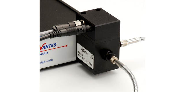 Direct-attach beamsplitter, for any Avantes spectrometer or light source