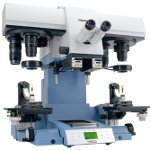 UCM Universal Comparison Microscope for Inspecting Fired Ammunition, from Projectina