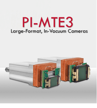 PI-MTE3 - In-Vacuum Applications with a Large-Format X-Ray Camera