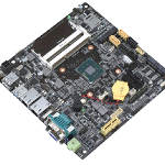 Thin Mini-ITX Embedded Motherboard with Multi-core Intel® Atom™ Processor
