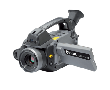 FLIR GF343 Infrared Camera for Optical Gas Imaging of CO2 Leaks