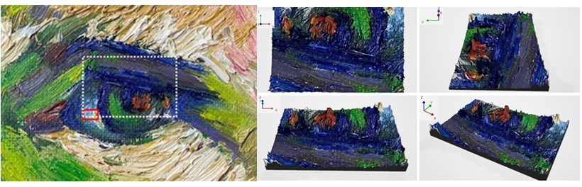Imaging Technique Acquires 3D Data of Impressionist-Style Oil Paintings