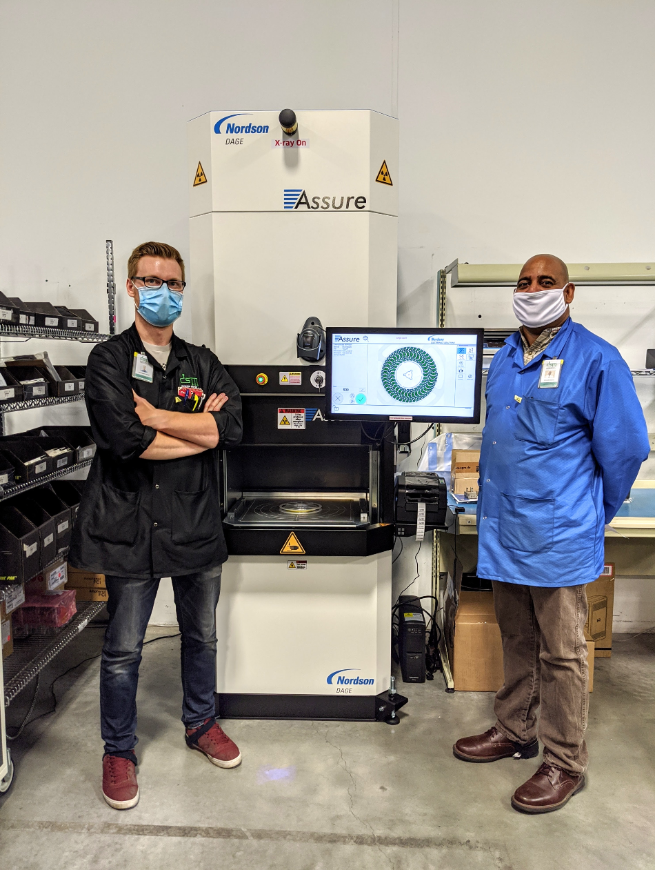 Dynamic Source Manufacturing Inc. (DSM) Installs Assure™ X-ray Component Counter from DAGE at Its Calgary, AB. Facility