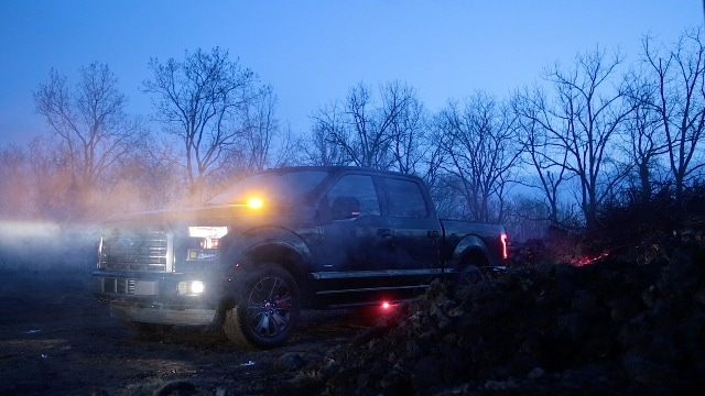 Ford Makes Strobe Warning LED Lights Available to F-150 Fleet Customers
