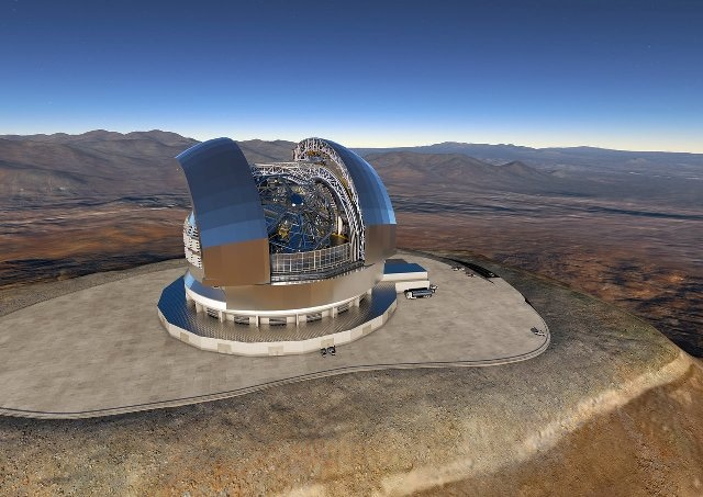 ESO Signs Contract with ACe Consortium for Construction of E-ELT Dome and Telescope Structure
