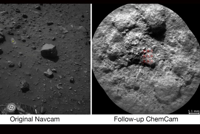 New Software Enables Mars Rover's ChemCam Instrument to Select Rock Targets Autonomously