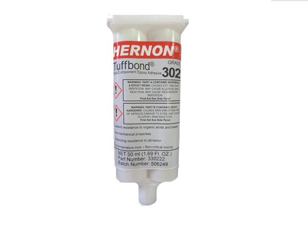 Fiber Optic Center, Inc. announces the Hernon® Tuffbond® 302 Epoxy Adhesive Packaged by ÅngströmBond