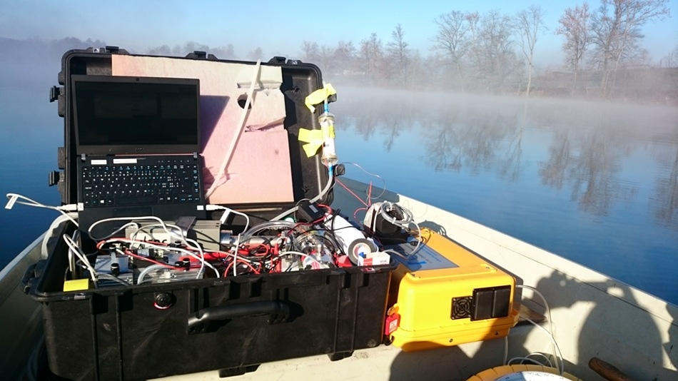New Portable Mass Spectrometer for Remote Location Gas and Water Sample Analysis