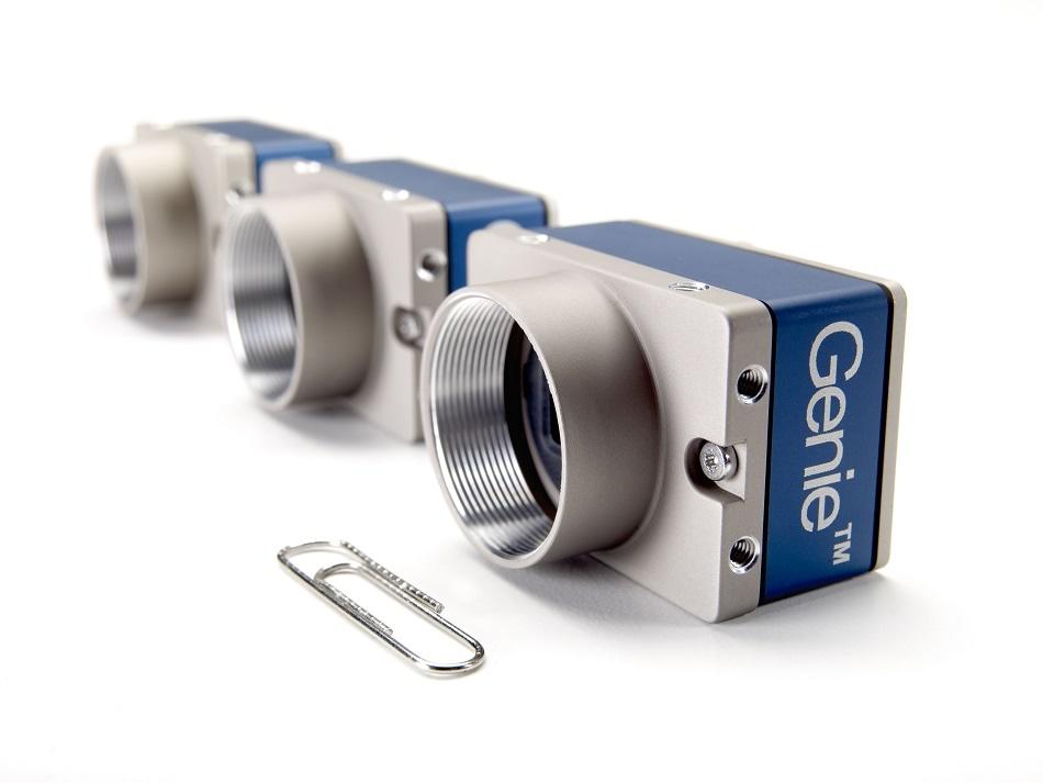 """New Genie Nano Cameras Built Around Sony's 1/3"""" CMOS Image Sensors"""