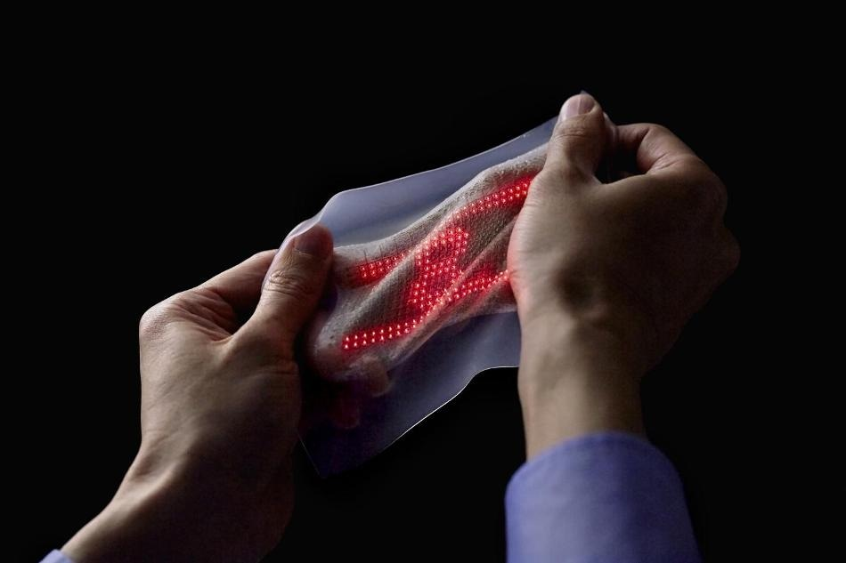 Ultrathin, Highly Elastic Skin Display to Monitor Patient Vitals