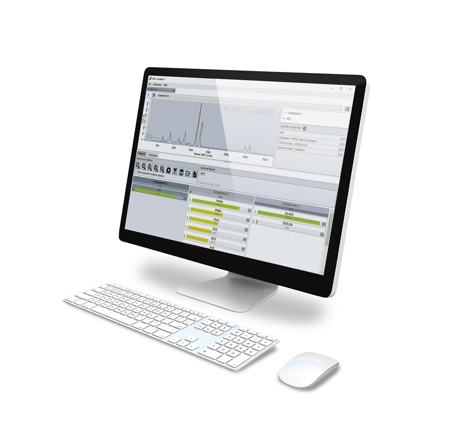 WITec Releases TrueMatch - Integrated Raman Spectral Database Software