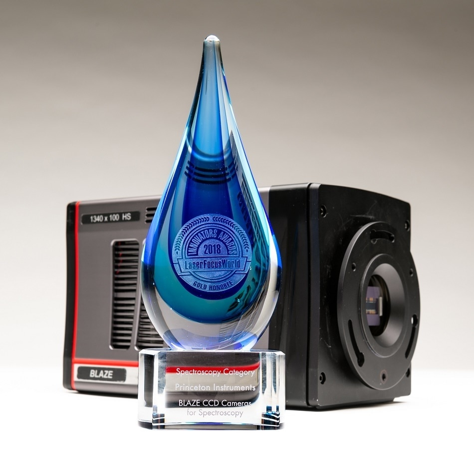 Princeton Instruments honored by Laser Focus World 2018 Innovators Awards Program