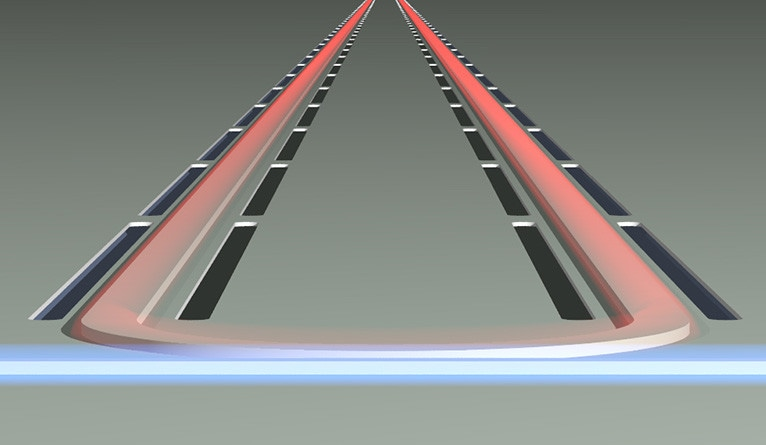 New Silicon Laser Uses Sound Waves to Amplify Light
