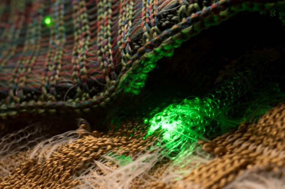 Incorporating Soft Hardware into Textiles for Use as Communication Systems