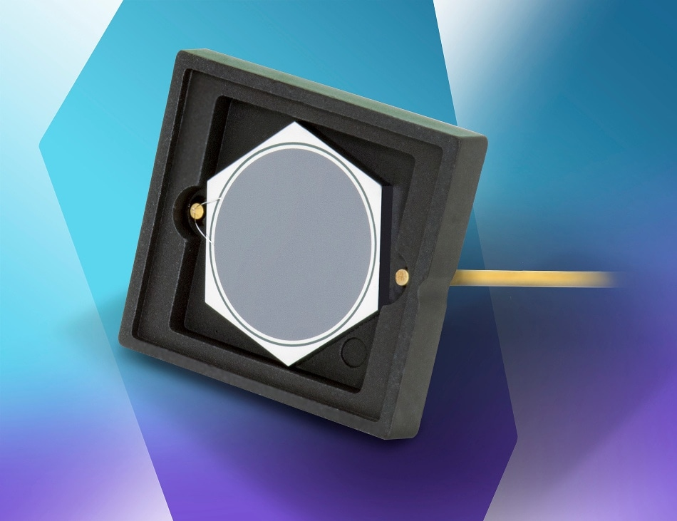 Opto Diode Announces 5 mm2 Circular Photodiodes for Radiation Detection