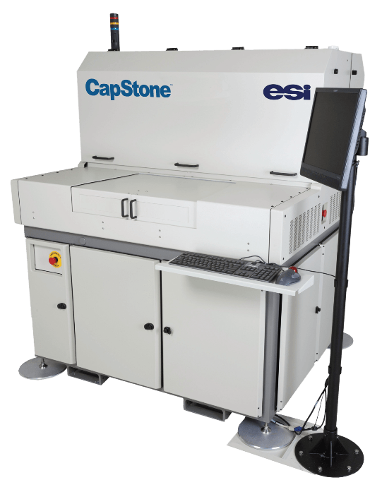 ESI's New CapStone Flexible PCB Laser Processing Solution Delivers the Highest Via Drilling Throughput in the Industry