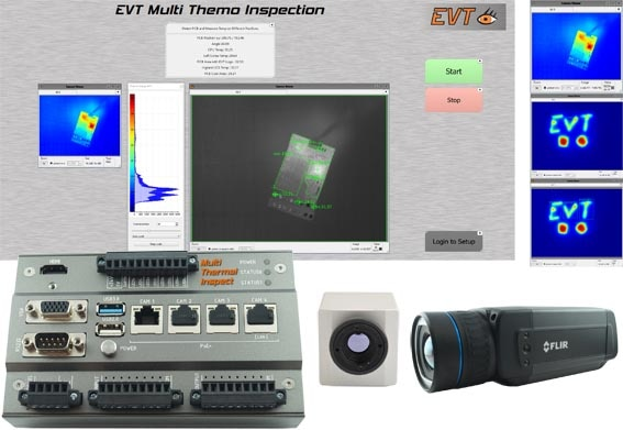 EVT Smart Multi Thermal Inspector for Thermal Inspection