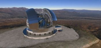 Construction of World's Largest Optical and Infrared Telescope Begins in Chile