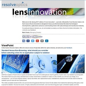 Informative Lens Innovation Newsletter