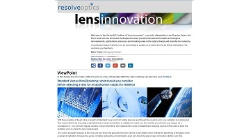 Spring 2017 Lens Innovation Newsletter