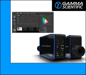 Gamma Scientific Offers World's Most Advanced Compact Industrial Spectroradiometer/Flicker Meter for Accurate and Repeatable Display Measurements