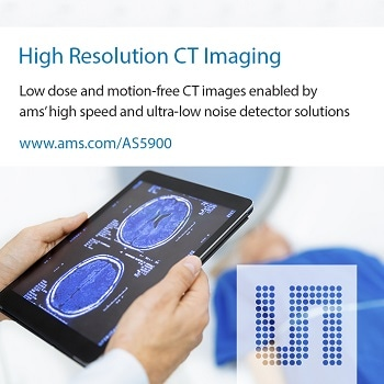 New High-Performance Sensor Interface Solution from ams Enables Medical, Industrial and Security CT Scanners to Render Sharper and More Detailed Images