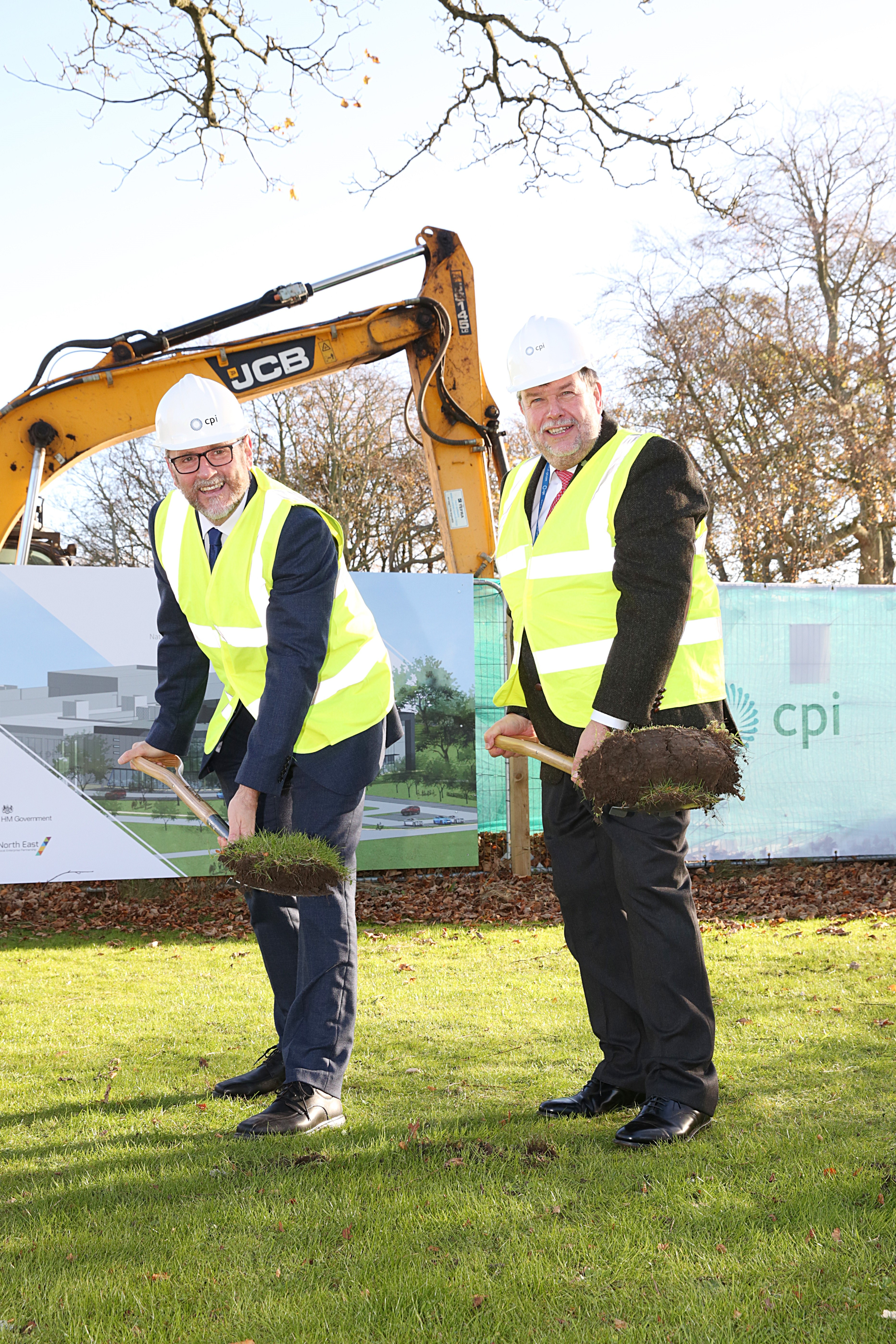 Construction of the National Healthcare Photonics Centre begins