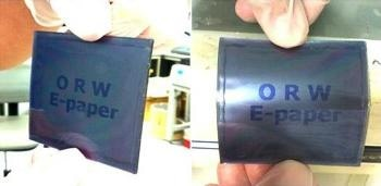 Robust, Light, Flexible, Paper-Thin LCD Can Display Three Colors Simultaneously