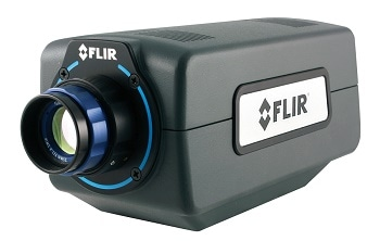 Fast Frame Rate Camera for Real-time Thermal Analysis