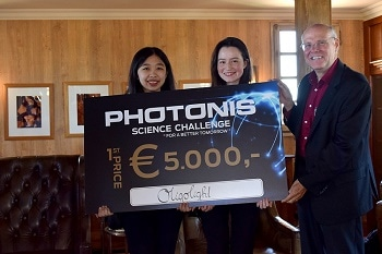 Photonis Awards Students for Innovative Science Ideas