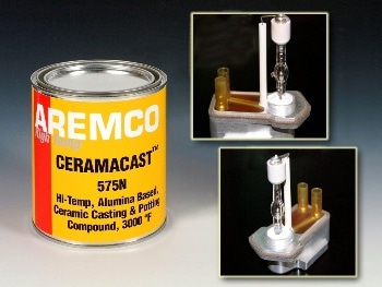 Ceramacast 575-N Now Available for Assemblying High-Power Lamps