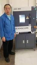Scienscope Provides Microfocus X-ray to E.M.I.