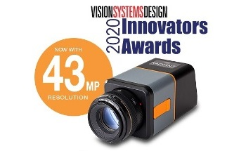 Radiant Vision Systems Honored by Vision Systems Design 2020 Innovators Awards Program
