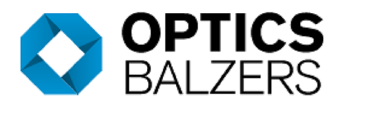 Optics Balzers AG logo.