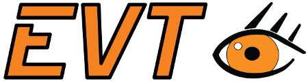 EVT Eye Vision Technology logo.