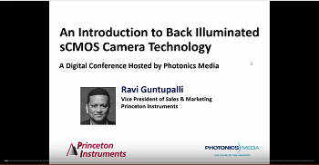 An Introduction to Back Illuminated sCMOS Cameras with Princeton Instruments - Feb 14 2017