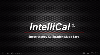 Intellical Spectroscopy Calibration Made Easy