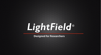 LightField - Designed for Researchers from Princeton Instruments